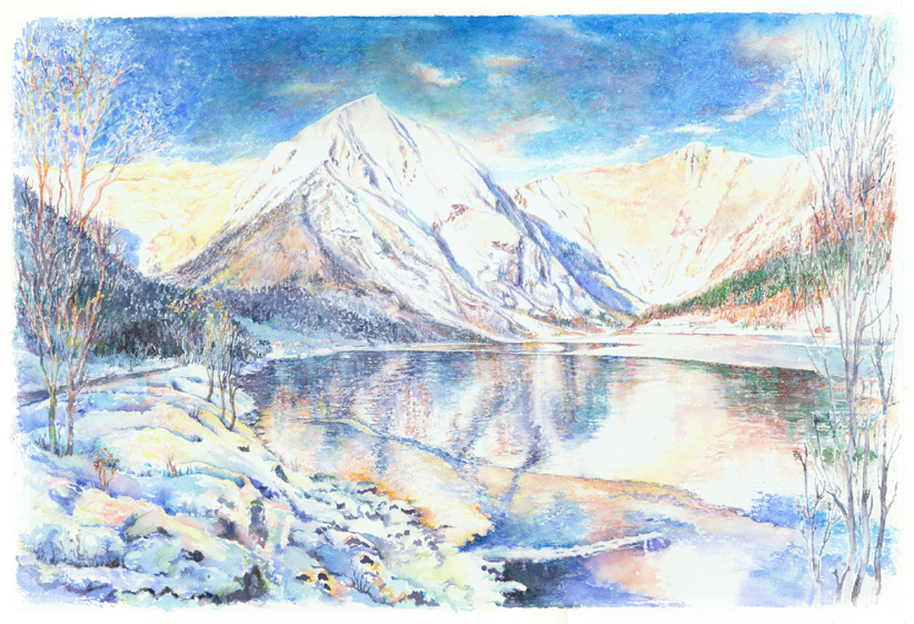 'Klåre vinter' Vindreken ved Esefjorden