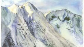 Lysskin i ville fjell - Fjella i Esedalen: Spenadn og Munkeggi